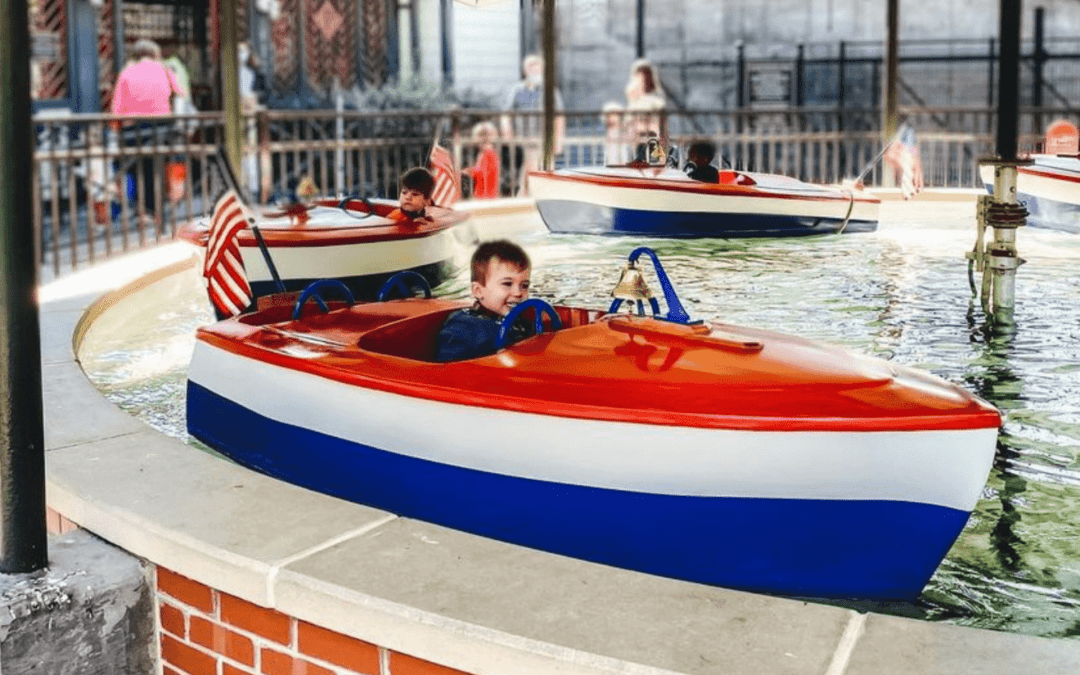 Pullen Park is affordable fun for families with small children