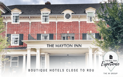 Boutique Hotels Close to RDU Airport
