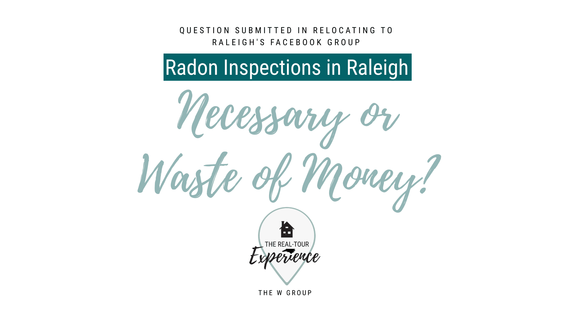 Radon Inspections | Real-Tour Experience